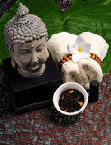 An Asian spa experience Stock Photography