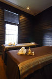Asian spa room in Thailand Royalty Free Stock Photos