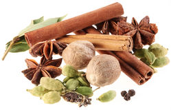 Asian spices. Royalty Free Stock Image