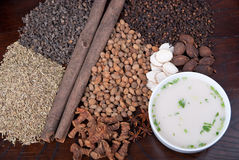 Asian spices Stock Photos