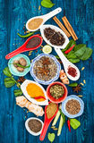 Asian spices Royalty Free Stock Images