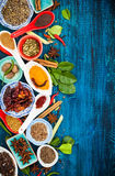 Asian spices Royalty Free Stock Photo