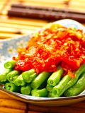 Asian spicy long bean Stock Photos