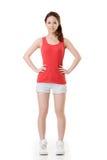 Asian sport girl Royalty Free Stock Image