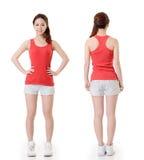 Asian sport girl Stock Photo