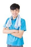 Asian sport man Stock Photo