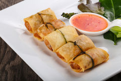 Asian spring roll Royalty Free Stock Photos