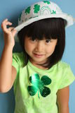 Asian St. Patricks Day Stock Photo