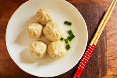 Asian steamed dumplings Royalty Free Stock Photography