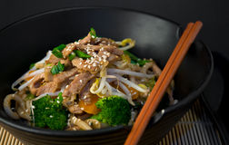 Asian Stir Fry Stock Image