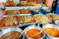 Asian street food market Royalty Free Stock Photos