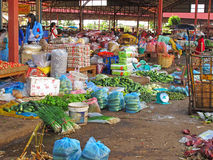 Asian street market Royalty Free Stock Image