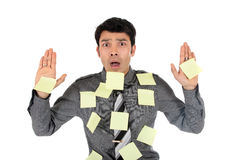 Asian stressed Businessman Royalty Free Stock Photo