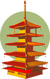 Asian structure. Royalty Free Stock Image
