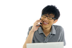 Asian student Stock Photography