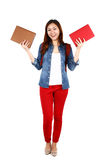 Asian student Royalty Free Stock Photos