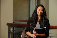 Asian Student Smiling Stock Images
