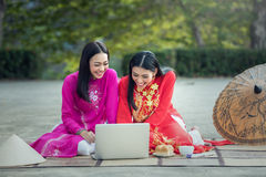 Asian student woman Royalty Free Stock Photo