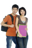 Asian students Royalty Free Stock Photo