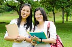 Asian students Stock Photos