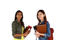 Asian students Royalty Free Stock Photo