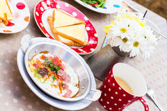 Asian style breakfast Stock Images