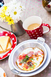Asian style breakfast set Royalty Free Stock Images