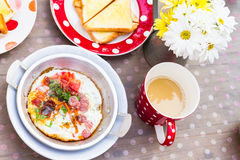 Asian style breakfast set Royalty Free Stock Photos