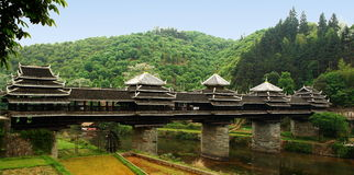 Asian-style bridge Chinese, Stock Image