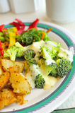 Asian style broccoli cuisine Stock Photo