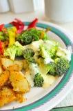 Asian Style Broccoli Cuisine Stock Photo