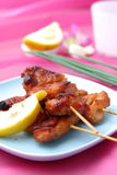 Asian Style chicken barbecue Stock Photos