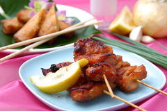 Asian Style chicken barbecue Stock Images