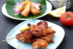 Asian Style chicken barbecue Royalty Free Stock Image