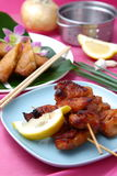 Asian Style chicken barbecue Royalty Free Stock Photos