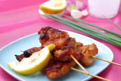 Asian Style chicken barbecue Stock Photo