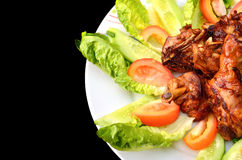 Asian Style Chicken Royalty Free Stock Photography
