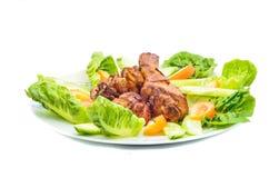 Asian Style Chicken Stock Photo