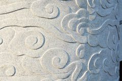 Asian style cloud pattern Stock Photography