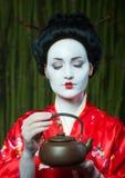 Asian style female portrait Royalty Free Stock Photos