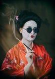 Asian style female portrait Stock Photo