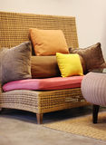 Asian style furniture Royalty Free Stock Images