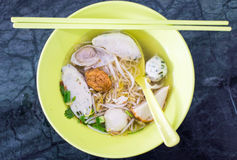 Asian style noodle Royalty Free Stock Photos