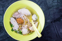 Asian style noodle Stock Photo