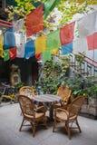 Asian style restaurant in kathmandu Royalty Free Stock Images