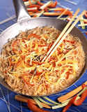 Asian-style rice vermicellis Stock Images