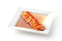 Asian Style Salmon Fillet Stock Image