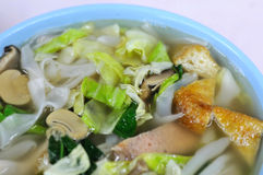Asian style soup noodles Stock Photo