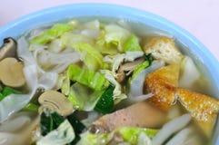 Asian Style Soup Noodles Stock Photo