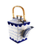 Asian style teapot Royalty Free Stock Photography